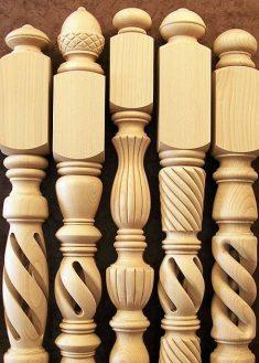 Lépcsőkorlát kezdő oszlop
