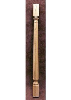 Lepcsokorlat koztes oszlop MM01-60